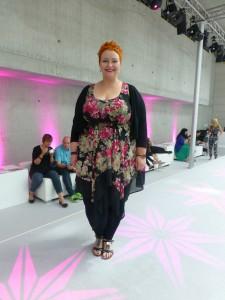 Plus-Size-Model Christin Thomsen.  Foto © Rose Wagner