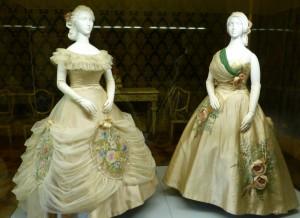 Abendroben von Emilio Schuberth aus den 1950er Jahren in der Galleria del Costume di Palazzo Pitti