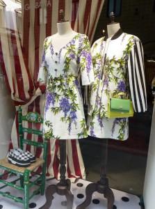 Schaufenster von Dolce und Gabbana in der Via degli Strozzi. Foto © Rose Wagner