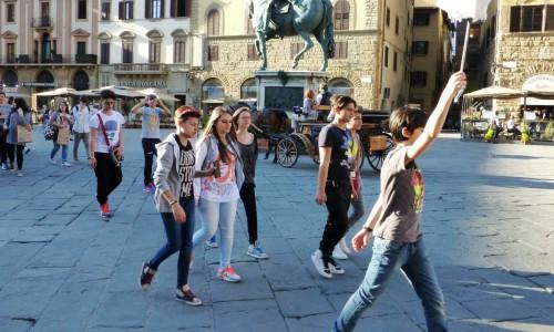 Weltmode in Florenz