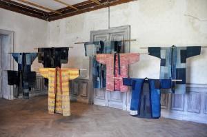 Blick in die Boro-Ausstellung.  Foto © Museum für Ostasiatische Kunst Köln