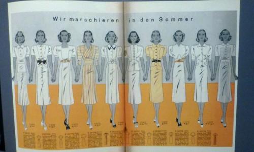 Mode im Schatten: Die dreißiger Jahre