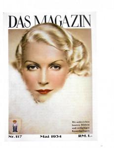 Titelbild eines Modemagazins aus dem Jahr 1930. Foto © Münchner Stadtmuseum.  Scan aus dem Begleitbuch