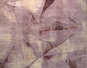 Detail aus einem Teppich der Kollektion Angels.  Foto © Rose Wagner