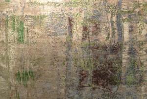Detail aus einem Teppich der Kollektion Artwork.  Foto © Rose Wagner