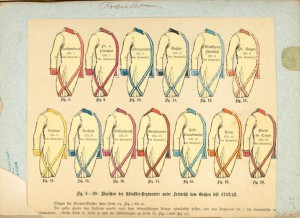 Preußische Uniformschnitte. Foto © The New York Public Library Digital Collections