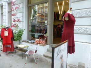 Front des Ladenlokals in der Frankenstraße