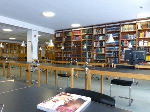 Studiensaal. Foto © Rose Wagner