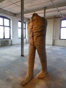 Blick in die Ausstellung im TextilWerk Bocholt, 2012. Foto © Rose Wagner