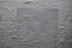 Detail aus dem Hungertuch von 1290. Foto © Rose Wagner