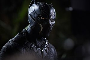 Black-Panther-Maske. Foto © Marvel