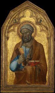 Himmelsschlüssel beim Heiligen Petrus, Italien, 14. Jh., Foto © Metropolitan Museum of Art, New York, Public Domain