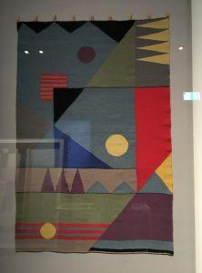Grete Reichardt, Kinderzimmer-Teppich von 1929, Neuwebung 1977