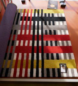 Teppich, Design Anni Albers; Museumsladen Dessau